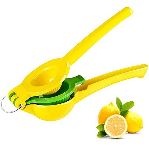 Lemon Squeezer Manual Citrus Juicer  Fruit Juicer Hand Press Lime Squeezer Professional Citrus Juicer Kitchen Tools Quality Lime Handheld Press for Lemonade Party Drink Cocktail