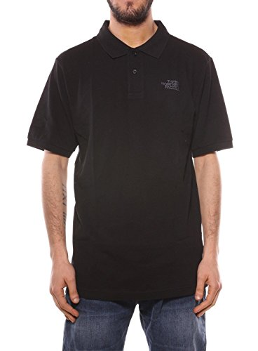 North Face T0Cg71 Polo Homme Noir FR : XS (Taille Fabricant : XS)