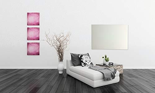 Infrarot Glasheizkörper 60x80cm 600 Watt weiß kaufen  Bild 1*
