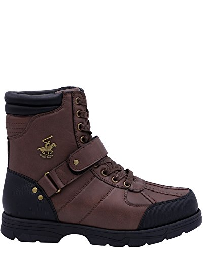 professional Men's Ranger Hello Beverly Hills Polo Club Boots-Brown, Brown, 9.5