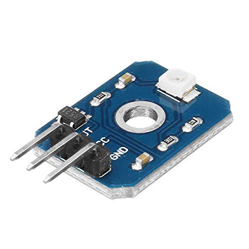 Dauerhaft DC 3.3-5V 0,1mA UV-Test Sensor-Switch-Modul UV-Strahl-Sensor-Modul 200-370nm Geekcreit for A-r-d-u-i-n-o - Produkte, dass die Arbeit mit dem offiziellen A-r-d-u-i-n-o-Boards 5pcs Leicht zusa