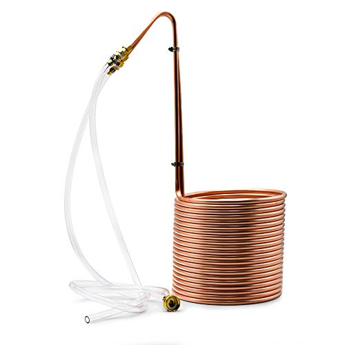 Northern Brewer - Copperhead 50 Foot Copper Immersion Wort Chiller for Beer Brewing