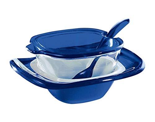 パルメザンチーズジャー 2836.0068 ブルー/62-6838-70