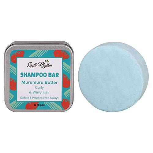 Soapworks Murumuru Butter Shampoo Bar for Curly & Wavy Hair, 100% Biodegradable, Plastic-free Packaging - 80 GM