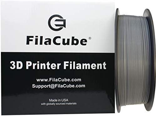 Gray PLA 3D Printer 1 75mm Filament FilaCube 1 75 mm 1kg PLA 2 3D Printing Plastic Grey Filament product image