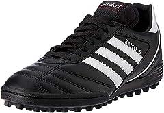 Adidas Kaiser 5 Team Botas de fútbol hombre, Multicolor (Negro/Blanco),42 2/3 EU