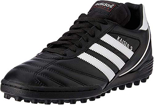 Adidas Kaiser 5 Team Botas de fútbol hombre, Multicolor (Negro/Blanco),42 EU