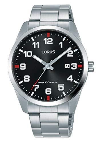 Lorus Reloj analogico para Hombre de Cuarzo con Correa en Acero Inoxidable RH973JX9