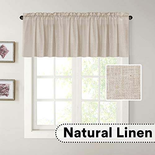 H.VERSAILTEX Natural Linen Curta...