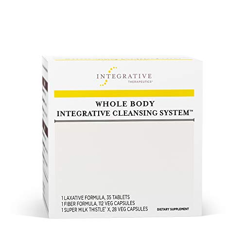 Integrative Therapeutics - Whole Body Integrative Cleansing System - 3 Product Kit for 2 Week Internal Cleanse - Promotes Detoxification of Body - 1 Kit