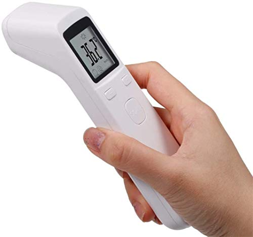 Infrared Thermometer for Fever, No-Touch Forehead Thermometer with Object Mode Function,Fever Alert and 32 Set Memory Recall,Best Care Thermometer for Adults and Baby Kids by Tom Electric