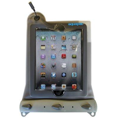 Aquapac iPad wasserdichte Tablet-Tasche mit Kopfhörerdurchgang, transparent/grau, 638