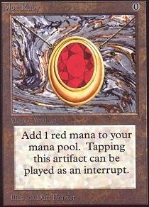 Magic: the Gathering - MOX Ruby - Unlimited