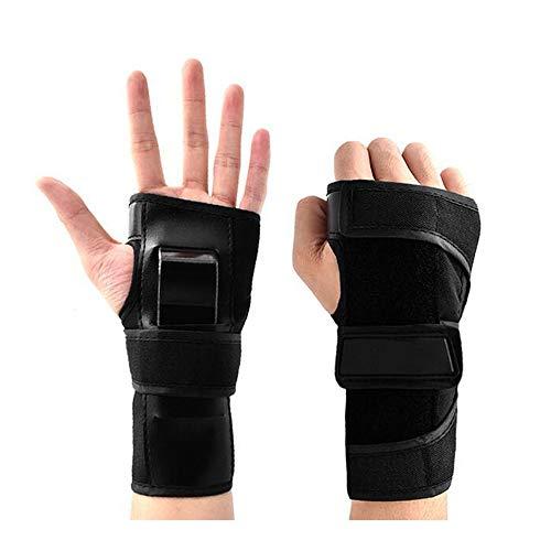 Handgelenkschutz Handgelenkschoner Inliner Handgelenkschützer Skate Handschutz Wrist Guard Inline Skates Schoner für Skifahren Skateboard Rollschuhlaufen Protektoren Erwachsene Kinder (Erwachsene)
