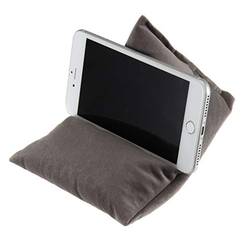 ZS ZHISHANG Phone Cushion, Bean Bag Cushion Holder, Tablet Holder, Soft Pillow Cushion Lazy Stand for Tablet, Smartphones, E-Reader, Any Viewing Angle, Ideal for Home or Travel