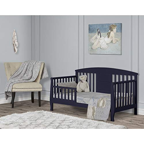 Dream On Me Dallas Toddler Day Bed in Navy Blue