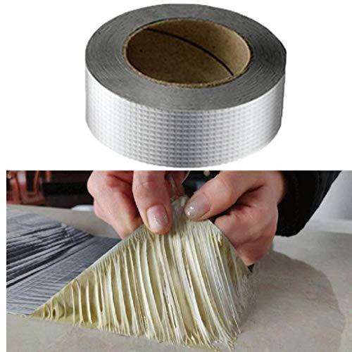 Aluminiumfolie-Klebeband wasserdichtes Klebeband Super-Reparatur Riss verdicken Butyl Wasserdicht Band Home Renovation Werkzeuge