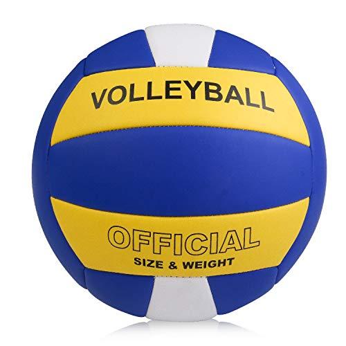 YANYODO Volleyball Beachvolleyball Soft Touch Volley Ball,Größe 5