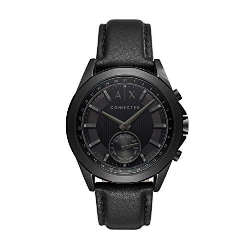 Armani Exchange Reloj Analogico para Hombre de Cuarzo con Correa en Cuero AXT1009