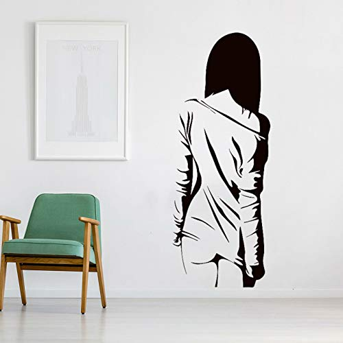 SUPWALS Sexy Girl Wall Decals Home Decor Woman Bedroom Romantic Home Decoration Accessories For Living Room Vinyl Wall Stickers