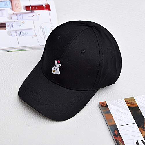 MGUOH Mode Liebe Gesten Finger Embroider Baseball Cap Hip Hip Hut Sonne
