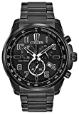 Citizen Reloj analógico para Hombre de con Correa en Acero Inoxidable AT2375-51H