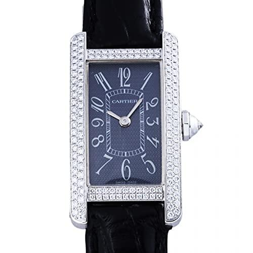 カルティエ Cartier タンク アメリカン SM WB705131 グレー文字盤 中古 腕時計 レディース (W208674) [並行輸入品]