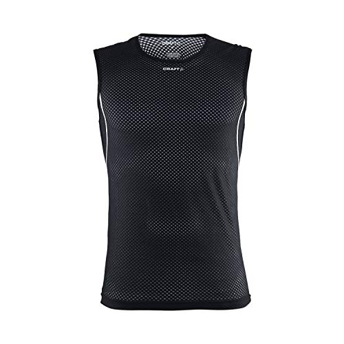 Craft Stay Cool Mesh Superlight sous-vêtement sans Manches Homme Noir FR : XS (Taille Fabricant : A: XS)
