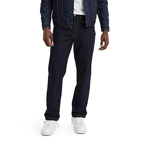 Levi's Men's 550 Relaxed-fit Jean, Rinse, 36X32