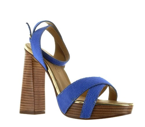 Dsquared Blue Real Leather Shoes, 39, Blue