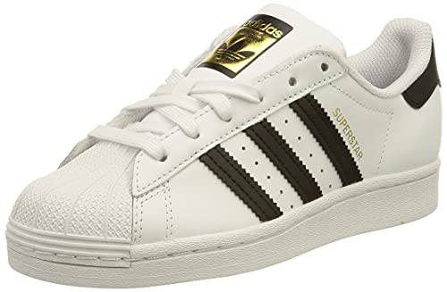adidas Superstar, Sneaker Mujer, Footwear White/Core Black/Footwear White, 39 1/3 EU
