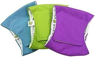Pañales para Perro Cubre Panza Lavables [Juego de 3 Piezas] Pañales Reutilizables y amigables con el Medio Ambiente...