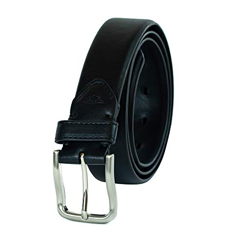 Dockers Men's Casual Belt With Comfort Stretch,black,Medium