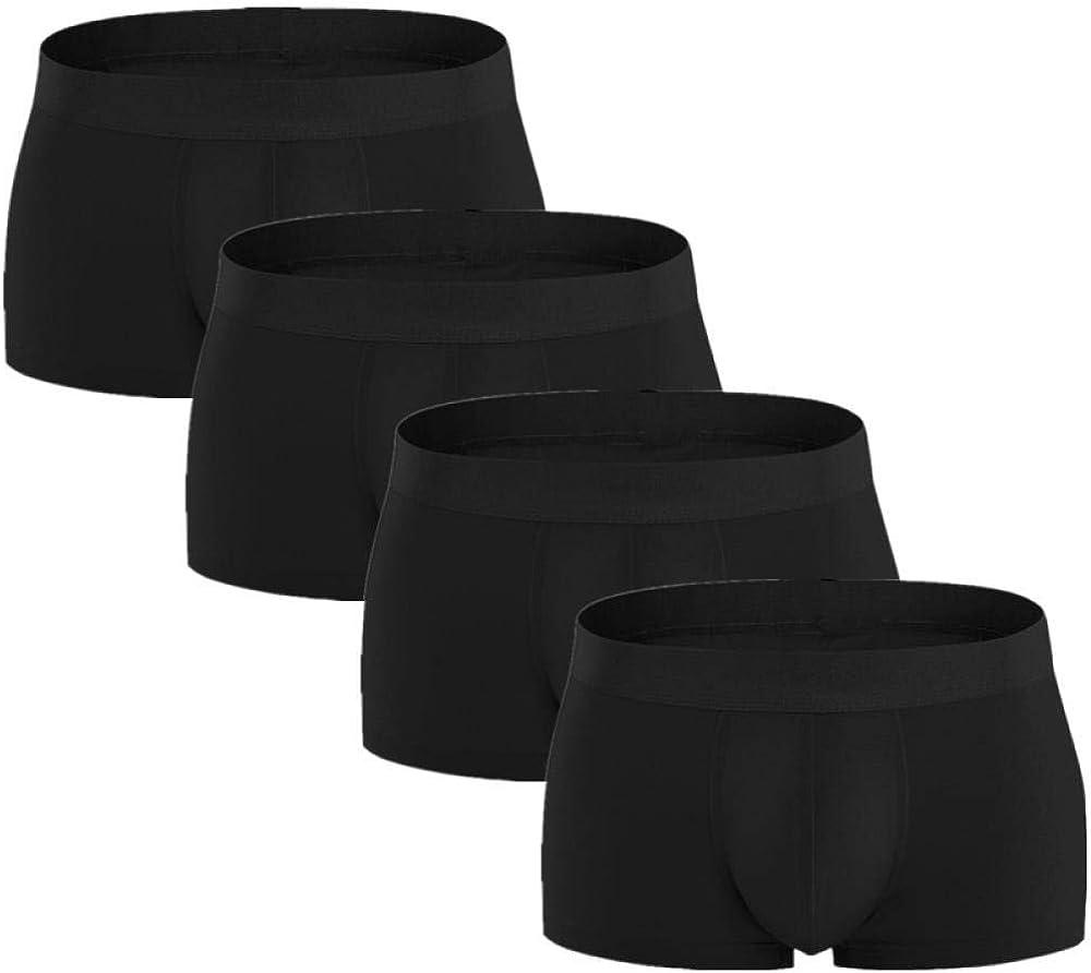 Max 60% OFF Briefs Men 4Pcs Lot Mens In a popularity Boxer Cotton Underwear Boxers Underpant