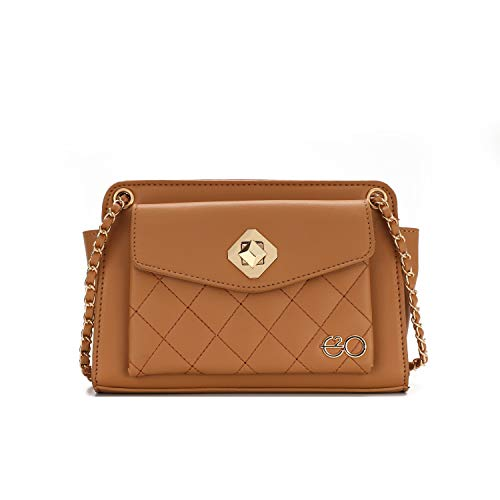E2O Women's Sling Bag (Brown)