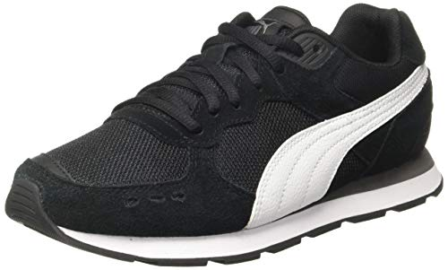 Puma Unisex-Kinder Vista Jr Sneaker, Schwarz Black White, 37 EU