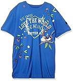 [デシグアル] Tシャツ半袖 MALACHI メンズ 20SMTK53 ブルー EU XXL (日本サイズ3L相当)