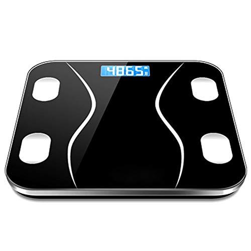 H-OUO balanzas digitales, Bluetooth Peso digital Báscula de grasa corporal, de alta precisión Balanza por un analizador de la composición corporal, inteligente, for el IMC, Músculo ,Por antropométrica