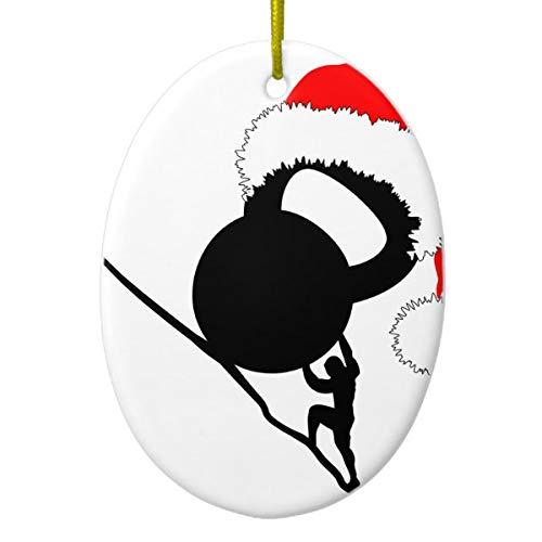 Sisyphus Kettlebell Merry Christmas Ceramic...