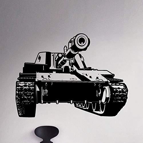 42x65cm Panzer Panzerwagen Entfernbare Wandaufkleber für Wohnzimmer Hintergrund Vinyl Wall Decals Schlafzimmer Boyso