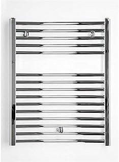 Radiador de baño cromo recto (775X 750B Conexión Central