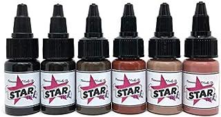 STARINKMAKEUP - Permanent make-upinkt - KIT BASIC 15ml - 6ud - Micropigmentatie - Microblading - Micropigmentatie