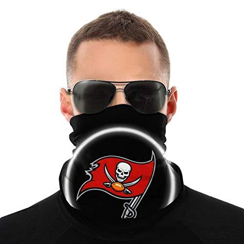 Tampa Bay Buccaneers - Pasamontañas para el cuello, resistente al viento, bandana para hombres, mujeres, deportes o al aire libre