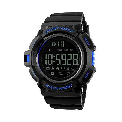 Redlemon Smartwatch Deportivo Reloj Inteligente Bluetooth Pantalla Digital Contra Agua Monitor de Presion Arterial Podómetro Contador de Calorías...