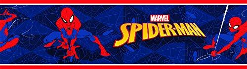 AGDesign Marvel Selbstklebende Bordüre Folie, Mehrfarbig 0,14x5 m