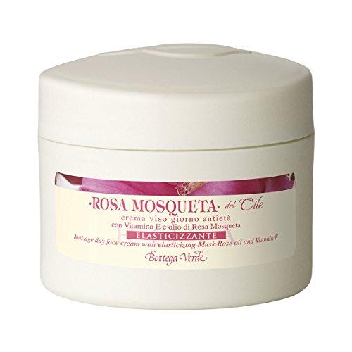 Bottega Verde - Rosa Mosqueta del Cile - Crema Viso Giorno Antietà con Vitamina E e Olio di Rosa Mosqueta Elasticizzante - 50 ml
