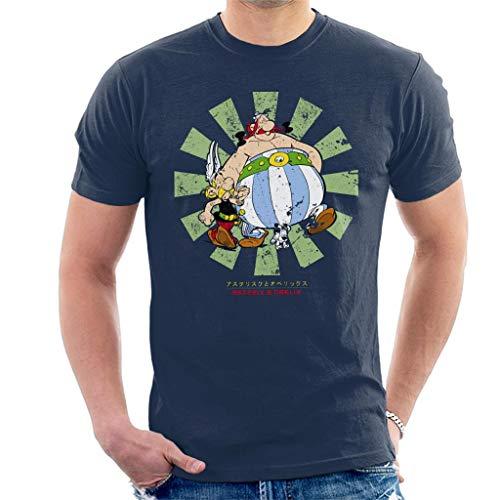 Cloud City 7 Asterix and Obelix Retro Japanese Men's T-Shirt