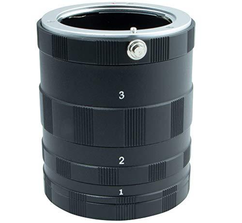 Tubo de extensión macro Micro Cuatro Tercios para Olympus OM-D E-M1 Mark III PEN E-PL10 PEN...