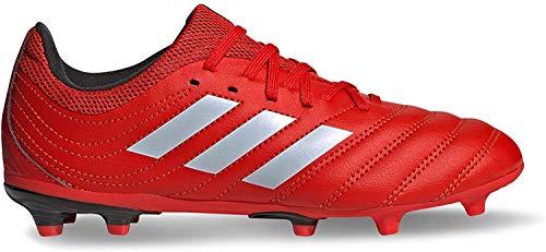 adidas Boys Copa 20.3 (FG) Football Shoe, Active Red/Footwear White/Core Black, 34 EU