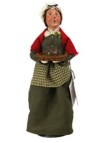 Byers' Choice Mrs Cratchit Caroler Figurine 2112A from The A Christmas Carol Collection
